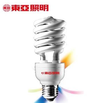 東亞24W電子式螺旋省電燈泡-燈泡色(EFS24L-G1)