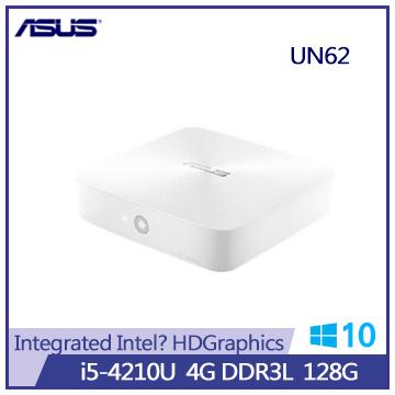 ASUS UN62 Ci5 128G SSD 迷你型電腦(UN62-W-4215R0A)