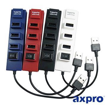 AXPRO AXP808 4port集線器