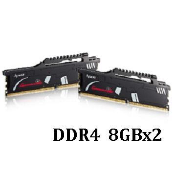 【16G】Apacer 突擊隊DDR4-2800(8G*2)(C-DDR4-2800-16GB)