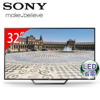 SONY 32型LED智慧型液晶電視(KDL-32W600D)