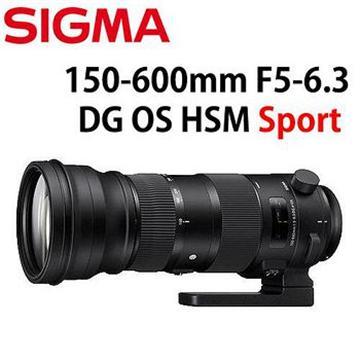 SIGMA 150-600mm F5-6.3 DG OS HSM SPORT(公司貨 FOR CANON)