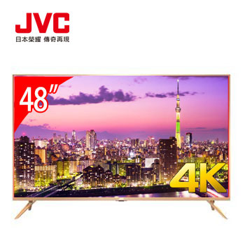【展示機】JVC 48型4K 超薄智慧聯網顯示器