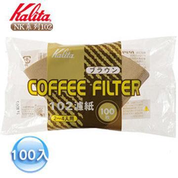 Kalita 102濾紙(3~4杯)