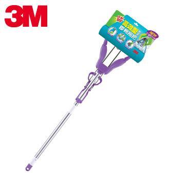 3M 高效型免沾手膠棉拖把紫色(7100030891)