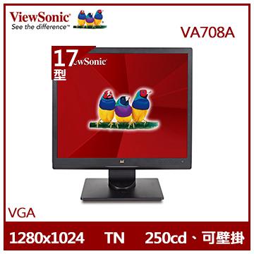 【17型】ViewSonic 5:4LED節能顯示器