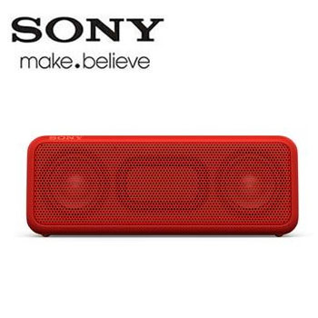 SONY NFC/藍牙揚聲器(SRS-XB3/RC(紅))