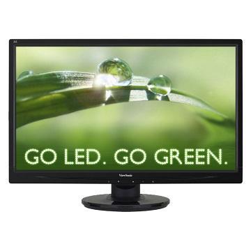 【22型】ViewSonic Full HD高畫質顯示器(VA2246M-LED)