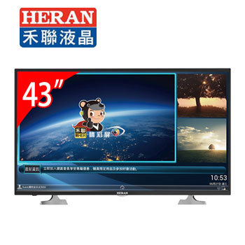 HERAN 禾聯 43吋 LED 液晶顯示器 (HD-43AC6)