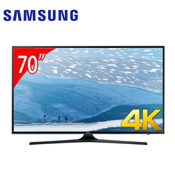 SAMSUNG 70型4K LED智慧型液晶電視(UA70KU6000WXZW)