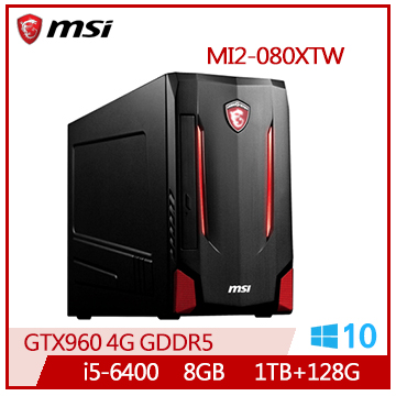 【福利品】MSI MI2 Ci5 GTX960 電競專用桌上型電腦