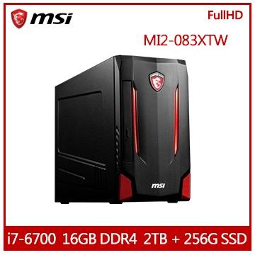 【福利品】MSI MI2 Ci7 電競專用桌上型電腦 MI2-083XTW-B7670016G2T02