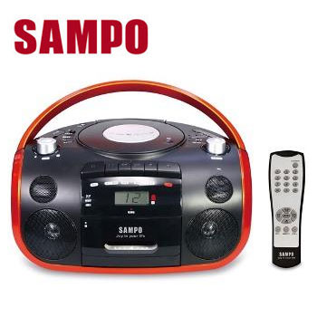 SAMPO USB手提CD音响(AK-W1602UL)
