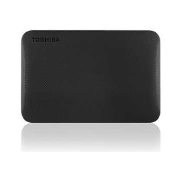 【2TB】TOSHIBA 2.5吋 行動硬碟(黑)