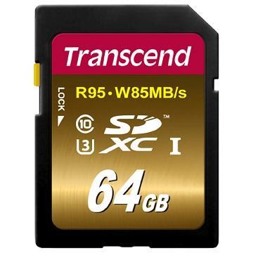 【64G】創見SDXC UHS-I U3X 記憶卡(TS64GSDU3X)