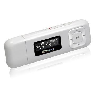 【8G】創見MP330 MP3(白)(TS8GMP330W)