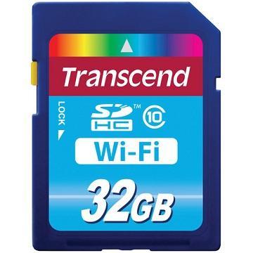 【32G】創見Wi-Fi SDHC10 記憶卡(TS32GWSDHC10)