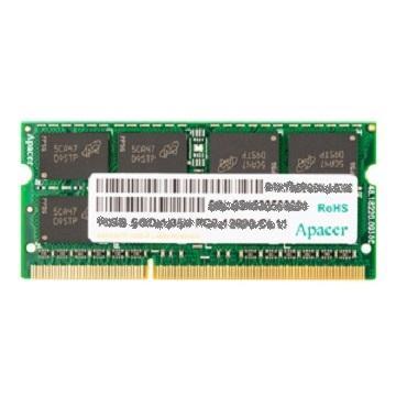 【8G】宇瞻Apacer SO-DIMM DDR3L-1600(DDR3L-1600-8GB)