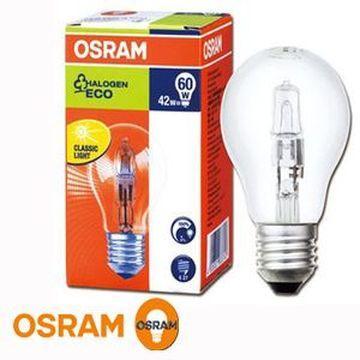 歐司朗鹵素燈泡 42W E27-4入組(101-A746842055)