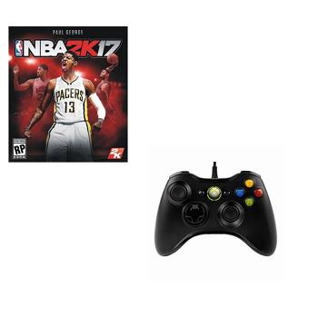 【超值組合】 NBA2K17 PC 中文版(PC160920A)