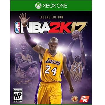 XBOX ONE NBA2K17 傳奇珍藏 中文版(X1160920B)