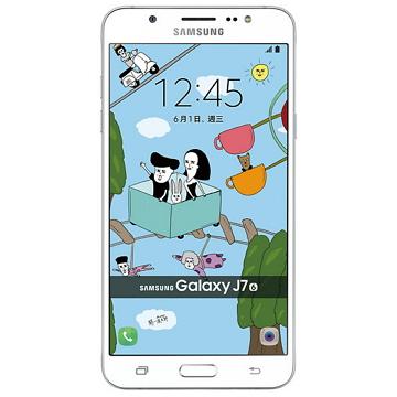 SAMSUNG Galaxy J7-白 2016版