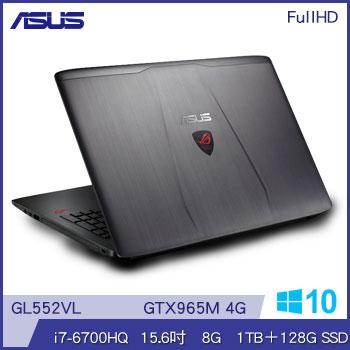 ASUS GL552VL Ci7 GTX965M 電競獨顯筆電(GL552VL-0023B6700HQ)