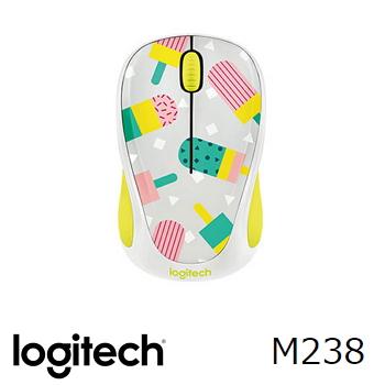 羅技無線滑鼠M238-甜心冰棒(910-004760)