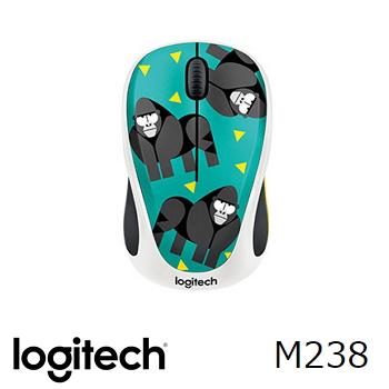羅技無線滑鼠M238-大猩猩(910-004767)