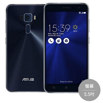 【5.5吋】ASUS ZenFone 3 -黑(ZE552KL藍寶黑)