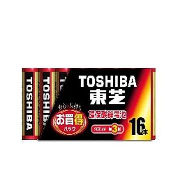東芝紅3號電池16入(R6KG)