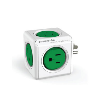 PowerCube 擴充插座-綠色(4100/USORPC)