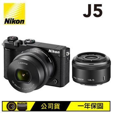 NIKON J5 10-30mm + 18.5mm 微單眼相機(J5(公司貨)-黑)