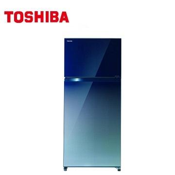 TOSHIBA 468公升無邊框玻璃變頻冰箱