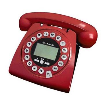 B.A.S.S來電顯示仿古電話