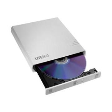 LITEON 8X 超薄型外接式燒錄器(白)(eBAU108)