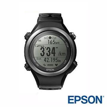 EPSON SF-110B Runsense路跑教练GPS手表-黑(SF-110B黑)