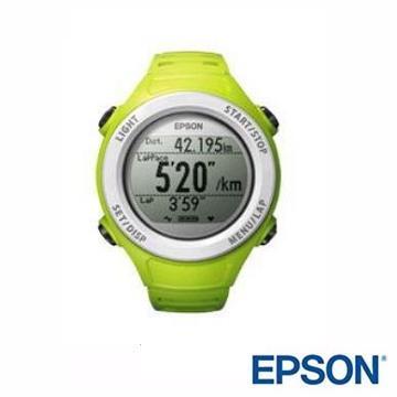 EPSON SF-110G Runsense路跑教练GPS手表-绿(SF-110G绿)