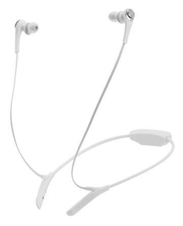 鐵三角 CKS550BT耳塞式藍芽耳機-白(ATH-CKS550BT WH)