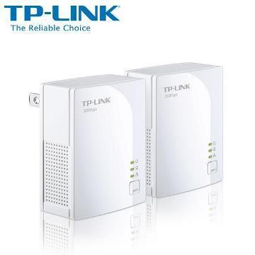 TP-LINK 微型電力線網路橋接器雙包組(TL-PA2010KIT(US))