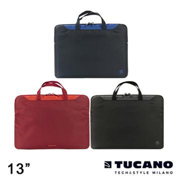 """Tucano MINI 輕薄多功能手提袋 13"""" 黑(BMINI13)"""