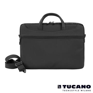 "Tucano WORK OUT II薄型側背包MB13.3"" 黑(WO2-MB13)"