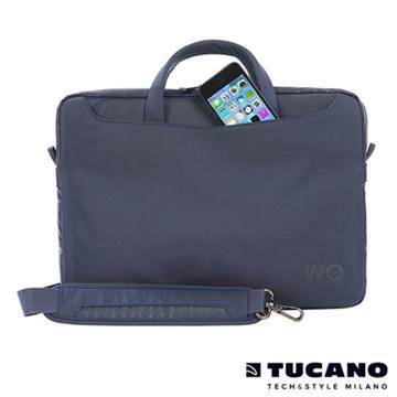 "Tucano WORK OUT II薄型側背包MB13.3"" 藍(WO2-MB13 B)"