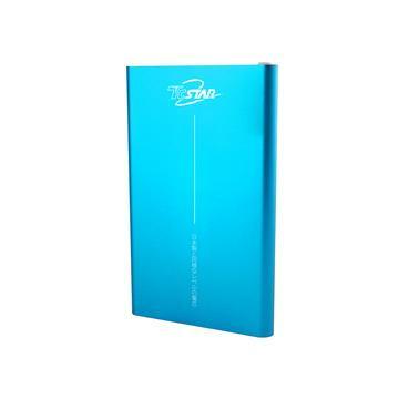 【4000mAh】TC STAR輕薄鋰聚合物行動電源-藍色(MBK060201BU)