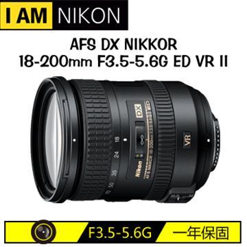 NIKON AFS DX 18-200mm F3.5-5.6G ED VR II(18-200mm(平輸))