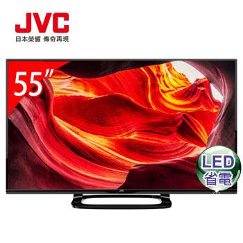 JVC 55型智慧聯網+視訊盒(55S)