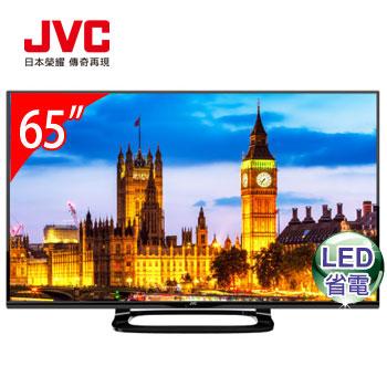 JVC 65型智慧聯網+視訊盒