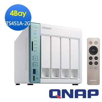 QNAP威聯通 TS-451A-2G網路儲存伺服器