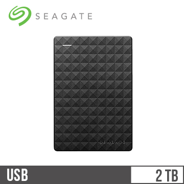 【2TB】Seagate 2.5吋行動硬碟(新黑鑽)