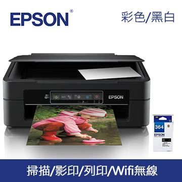 【組合包】EPSON XP-245 四合一Wifi雲端超值複合機+墨水買1黑送1彩